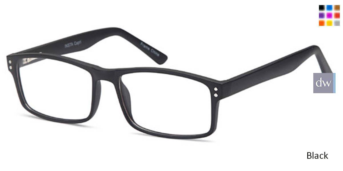 Black CAPRI INSTA Eyeglasses