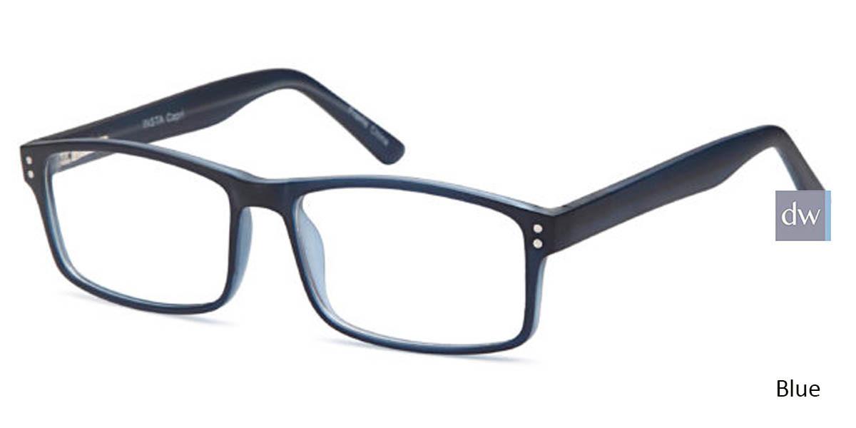 Blue CAPRI INSTA Eyeglasses