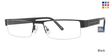 Black Wired 6015 Eyeglasses