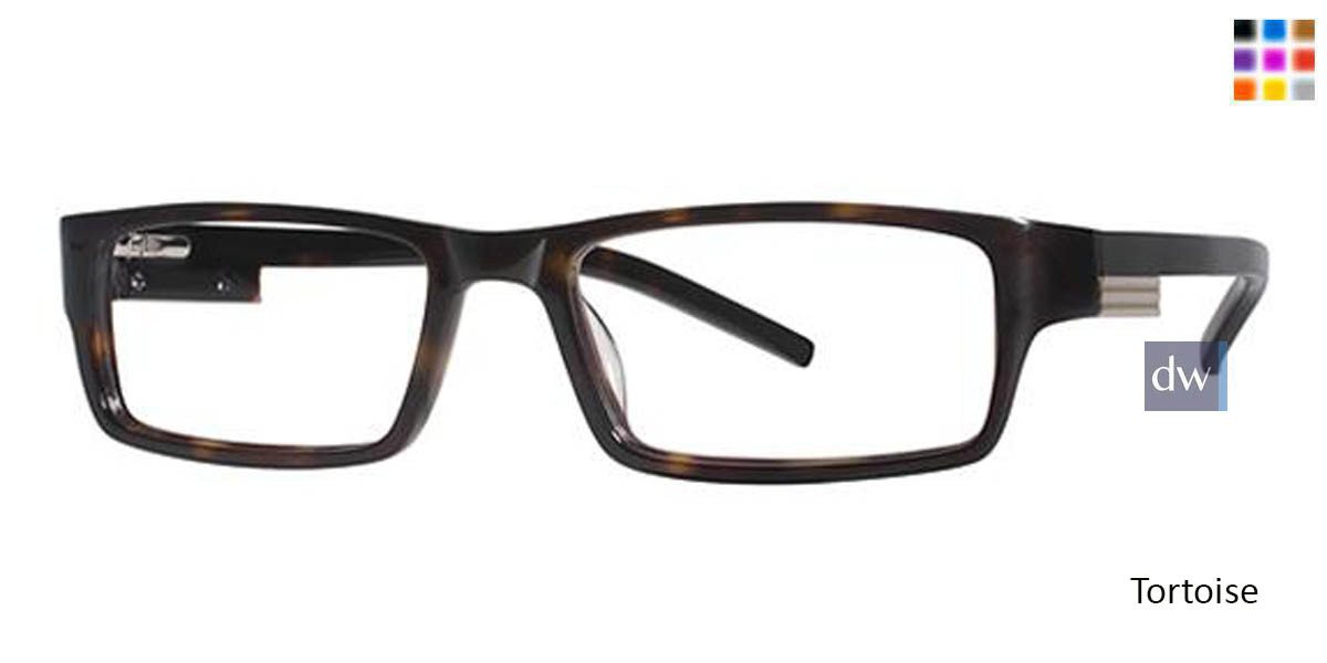 Tortoise Wired 6020 Eyeglasses