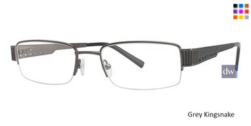 Grey Wired 6021 Eyeglasses