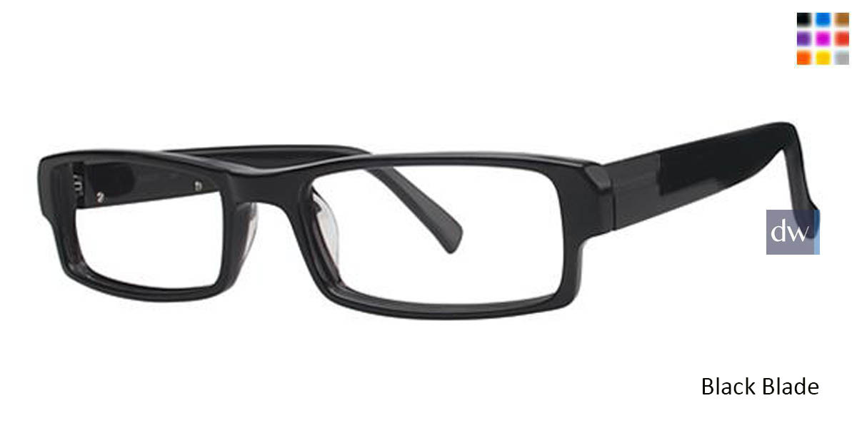Black Blade Wired 6023 Eyeglasses