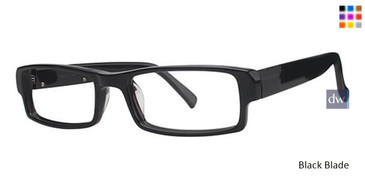 Black Blade Wired 6023 Eyeglasses