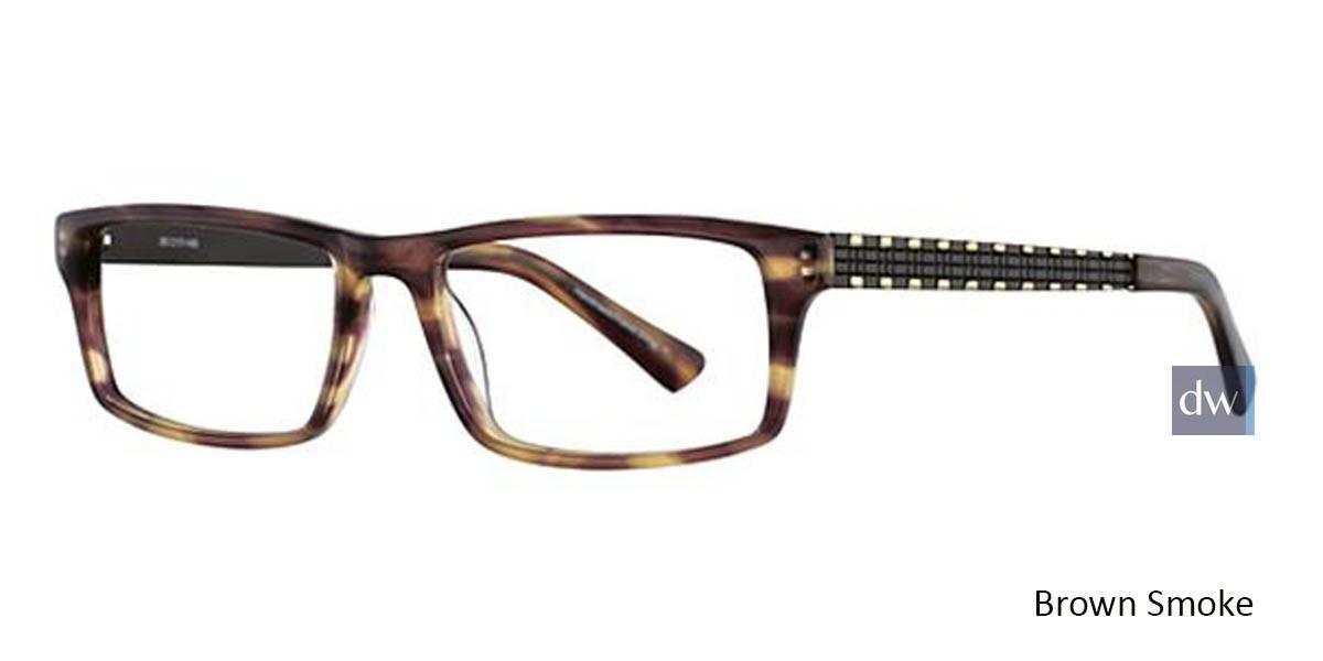 Brown Smoke Wired 6028 Eyeglasses