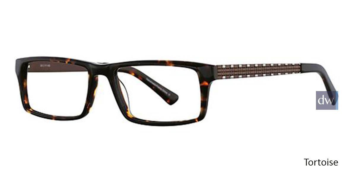 Tortoise Wired 6028 Eyeglasses