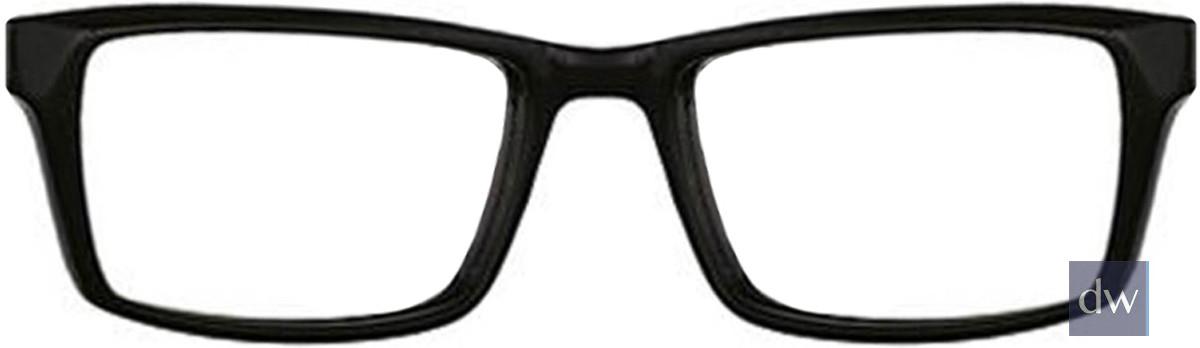 Black Wired 6028 Eyeglasses