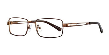 Brown Wired 6029 Eyeglasses