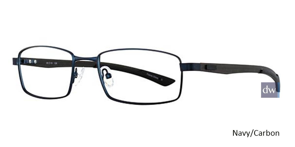 Navy/Carbon Wired 6031 Eyeglasses