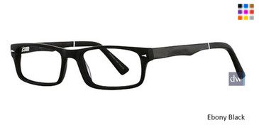 Ebony Wired 6032 Eyeglasses