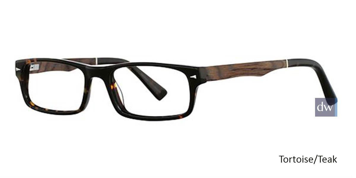 Tortoise/Teak Wired 6032 Eyeglasses
