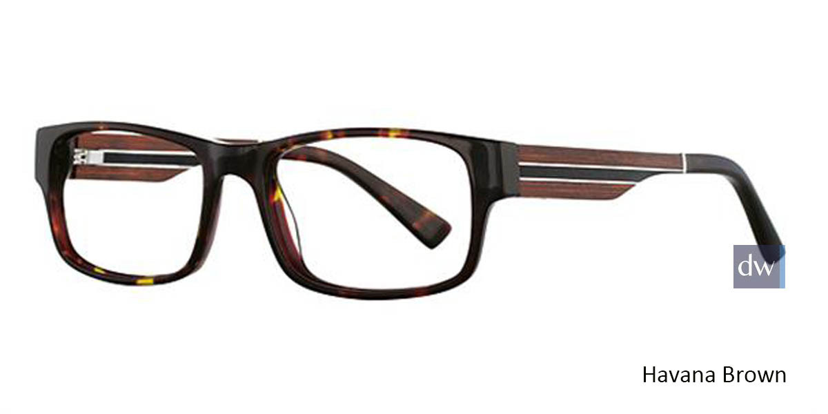 Ocean Black Wired 6033 Eyeglasses