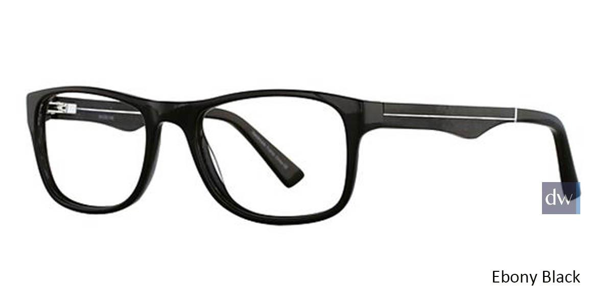 Ebony Black Wired 6035 Eyeglasses