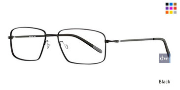 Black Wired 6037 Eyeglasses