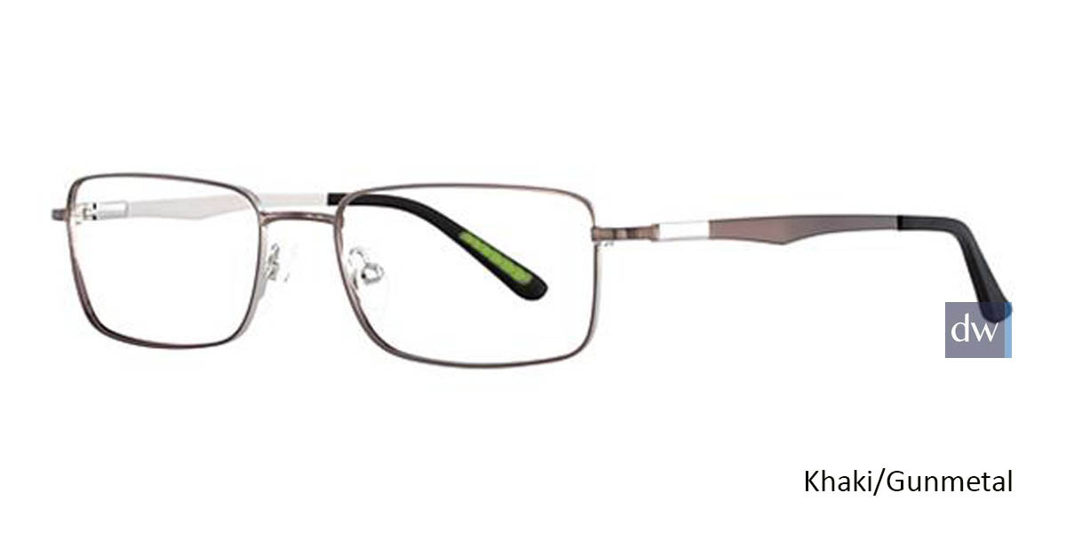 Khaki/Gunmetal Wired 6038 Eyeglasses