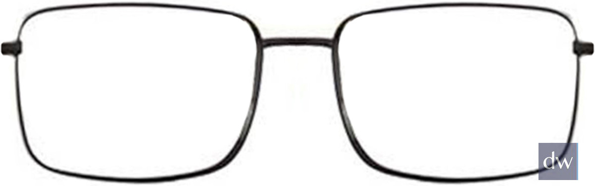 Black/Silver Wired 6038 Eyeglasses