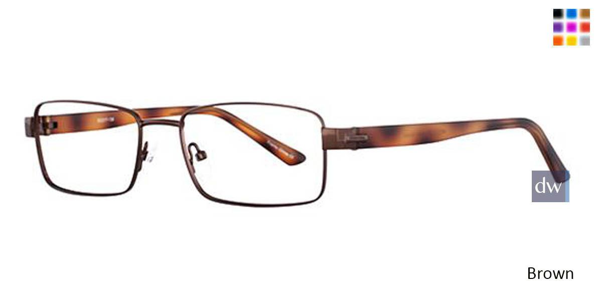 Brown Wired 6040 Eyeglasses