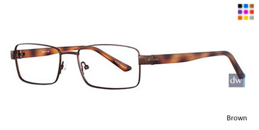 Brown Wired 6040 Eyeglasses
