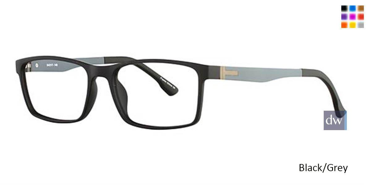 Black/Grey Wired 6041 Eyeglasses