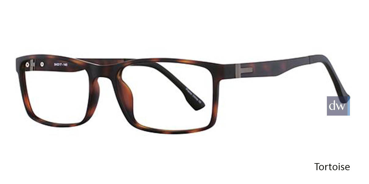 Tortoise Wired 6041 Eyeglasses