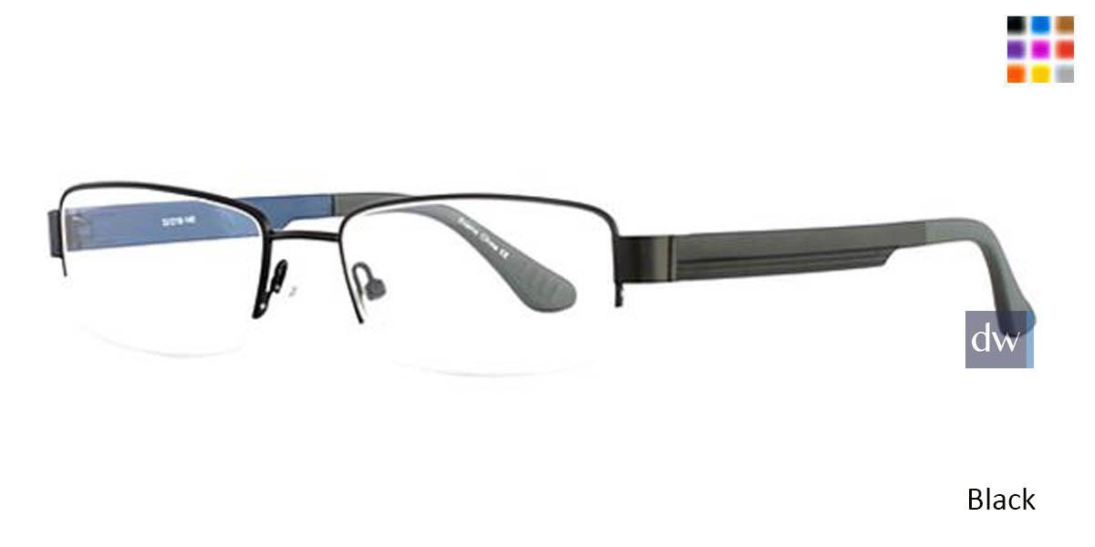 Black Wired 6042 Eyeglasses