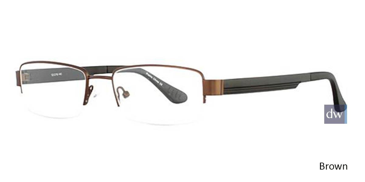 Brown Wired 6042 Eyeglasses
