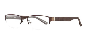 Brown Wired 6044 Eyeglasses.