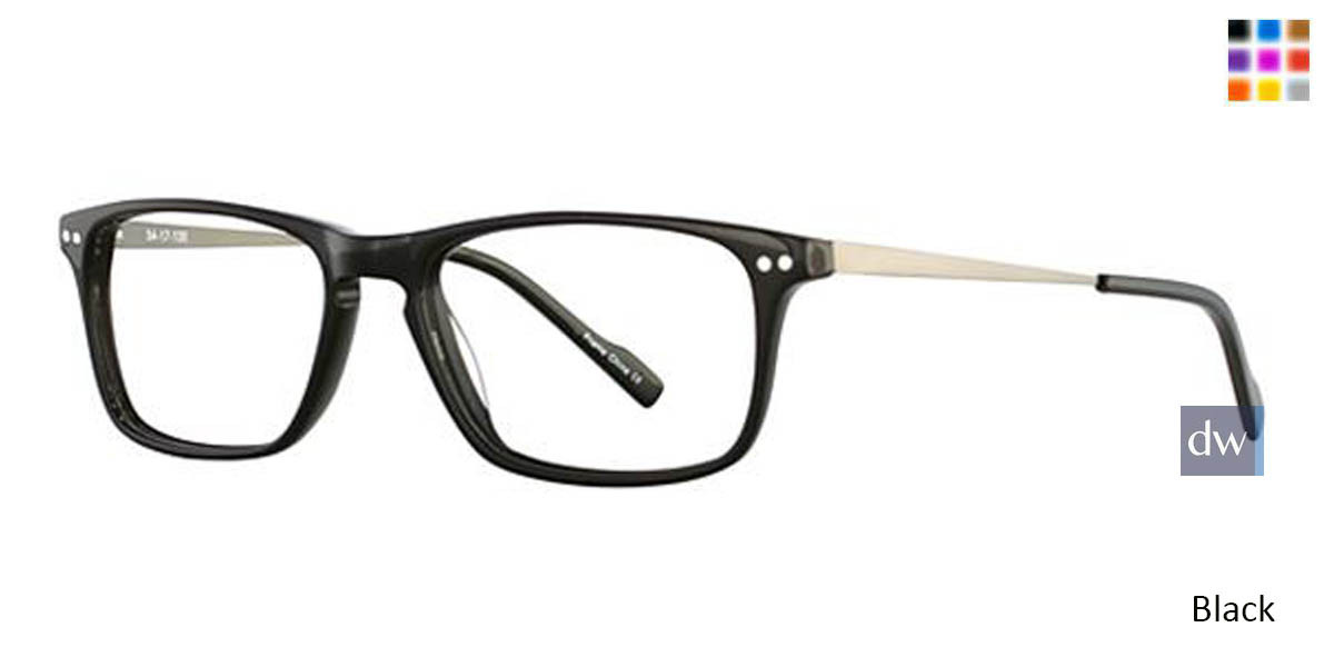 Black Wired 6045 Eyeglasses