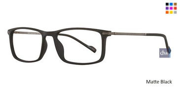 Matte Black Wired 6053 Eyeglasses