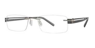 Silver/Gunmetal Wired RLS03 Eyeglasses