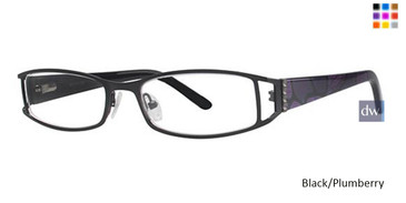 Black/Plumberry Vavoom 8026 Eyeglasses