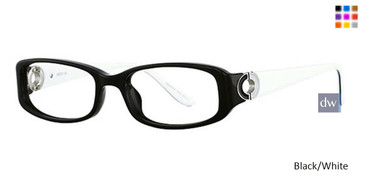 Black/White Vavoom 8036 Eyeglasses