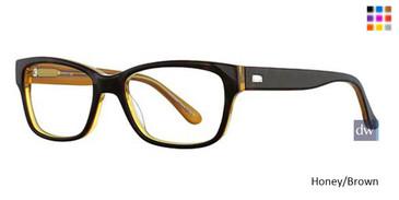 Honey/Brown Vavoom 8040 Eyeglasses