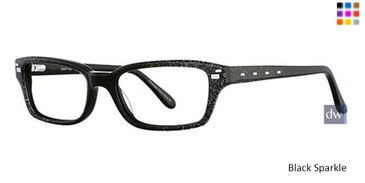 Black Sparkle Vavoom 8041 Eyeglasses