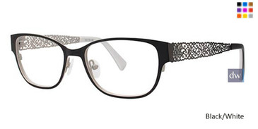 Black/White Vavoom 8044 Eyeglasses