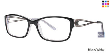 Black/White Vavoom 8048 Eyeglasses