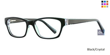 Black/Crystal Vavoom 8057 Eyeglasses