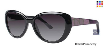 Black/Plumberry Vavoom 8817 Sunglasses
