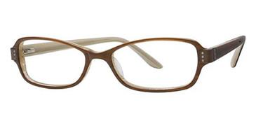 Brown Avalon 1808 Eyeglasses.