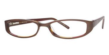 Brown laminate Avalon 1817 Eyeglasses - Teenager
