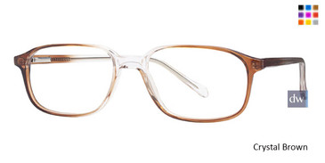 Crystal Brown Parade 1502 Eyeglasses
