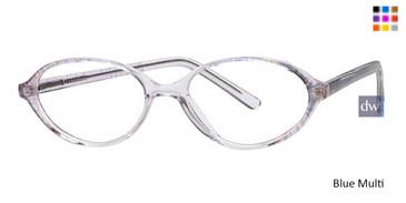 Blue Multi Parade Q Series 1530 Eyeglasses.