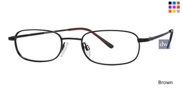 Brown Parade Q Series 1608 Eyeglasses - Teenager .