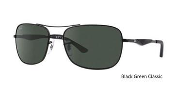 Black Green Classic 006/71 RayBan RB3515 Sunglasses