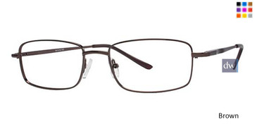 Brown Parade Q Series 1611 Eyeglasses.