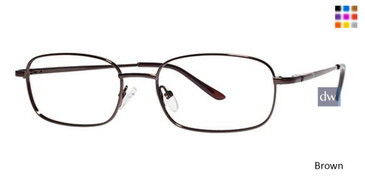 Brown Parade Q Series 1617 Eyeglasses