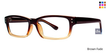Brown Fade Parade Q Series 1714 Eyeglasses