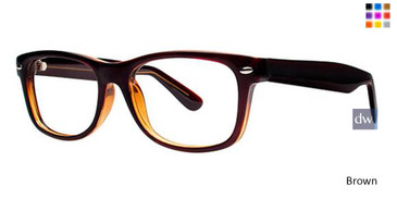 Brown Parade Q Series 1719 Eyeglasses