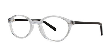 Crystal/Matte Black Parade Q Series 1724 Eyeglasses.