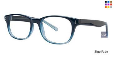 Blue/Fade Parade Q Series 1726 Eyeglasses