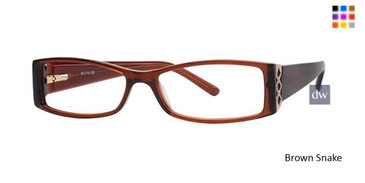 Brown Snake Avalon 5008 Eyeglasses